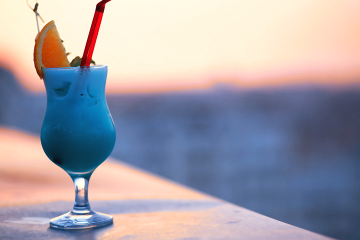 Blue Pina Colada Recipe for Baby Shower