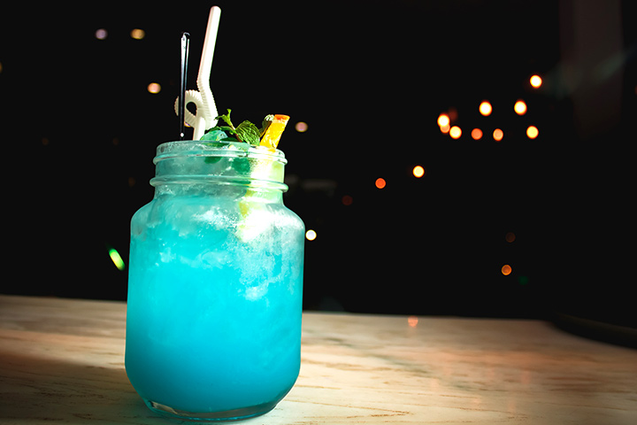 Blue Cooling Minty Punch Recipe for Baby Shower