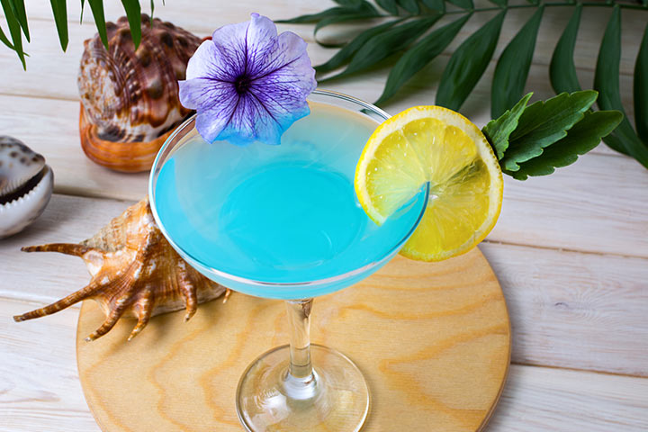 Easy Blue Punch Recipes on Baby Shower