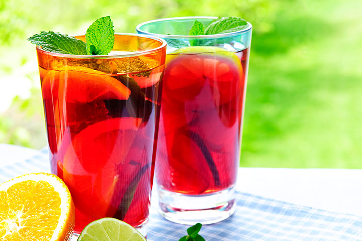 Hot Red Punch recipe During Baby Shower