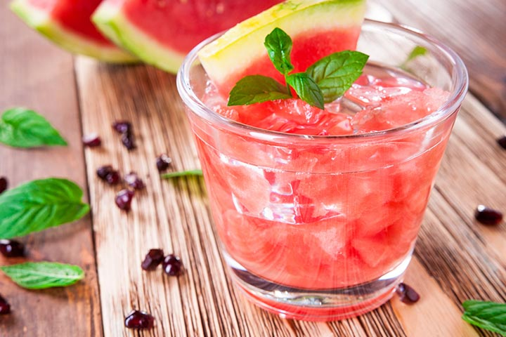 Baby Shower Punch Recipes of Watermelon Green Soda Pop