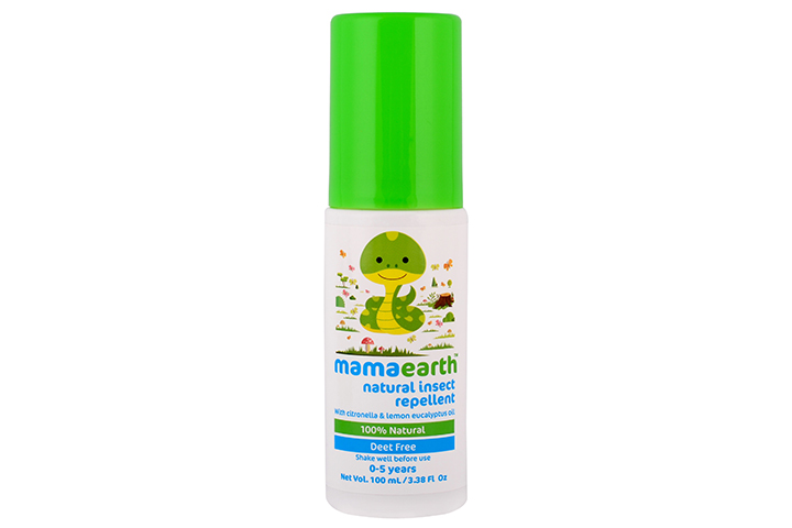 Mosquito repellent natural spray
