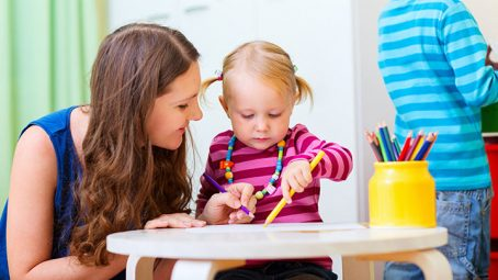 Leaving Kids With Babysitters or at Daycare