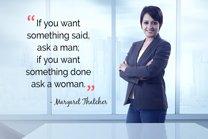 if you want something said, ask a man