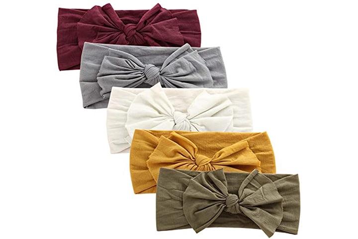 Baby Girl Nylon Headbands