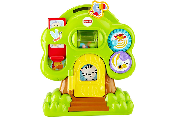 Fisher-Price Animal Friends Discovery Tree house