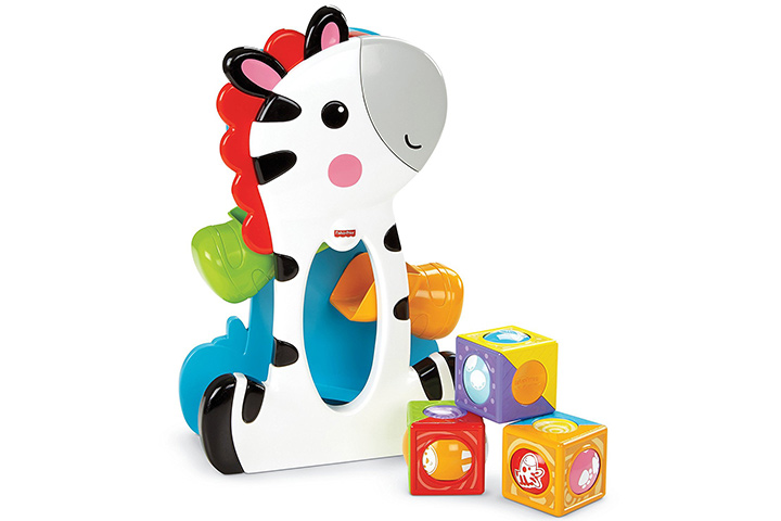 Fisher-Price Roller Blocks Tumblin'Zebra