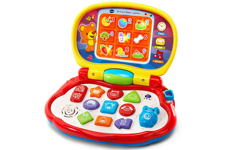 VTech Brilliant Baby Laptop  sc 1 st  MomJunction & 18 Interesting Toys And 14 Attractive Gifts For 10-Month-Old Babies ...