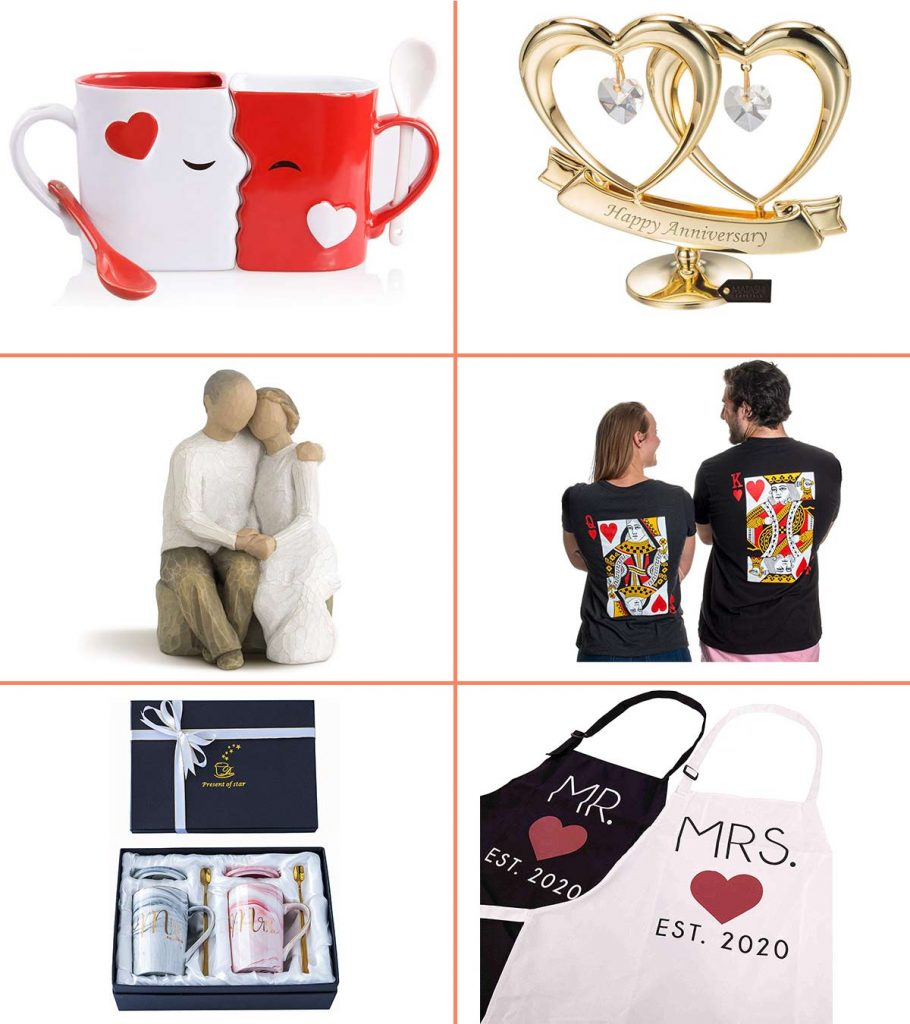 23 Best Wedding Anniversary Gifts To Buy In 2020