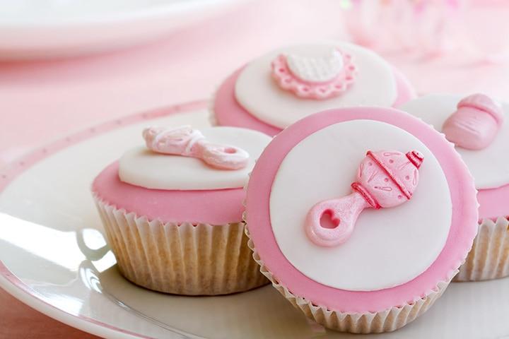 Baby Rattle Cupcakes Dessert