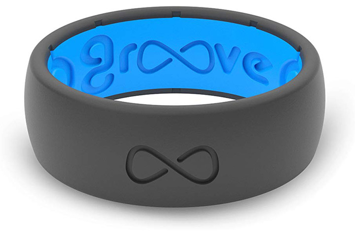 Groove Life Silicone Wedding Ring for Men