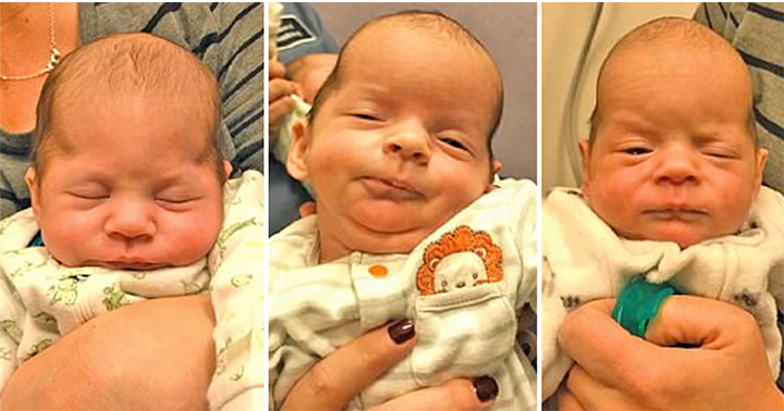 Mom Gives Birth To Triplets, Notices Their Heads Look Odd