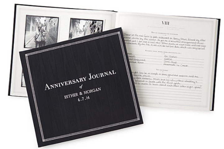 Personalized Anniversary Journal