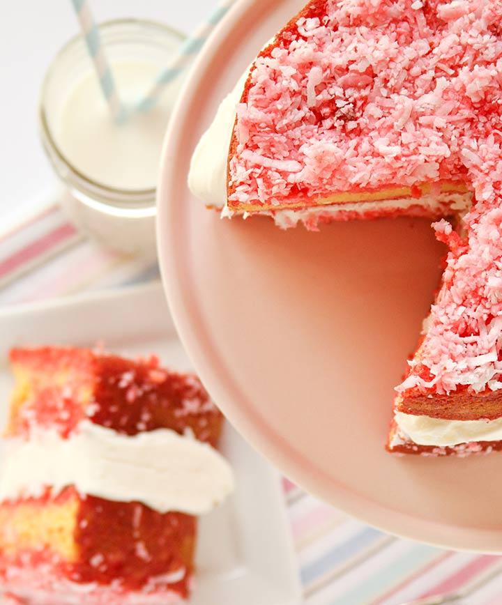 Raspberry Zinger Cake Desserts for Baby Shower
