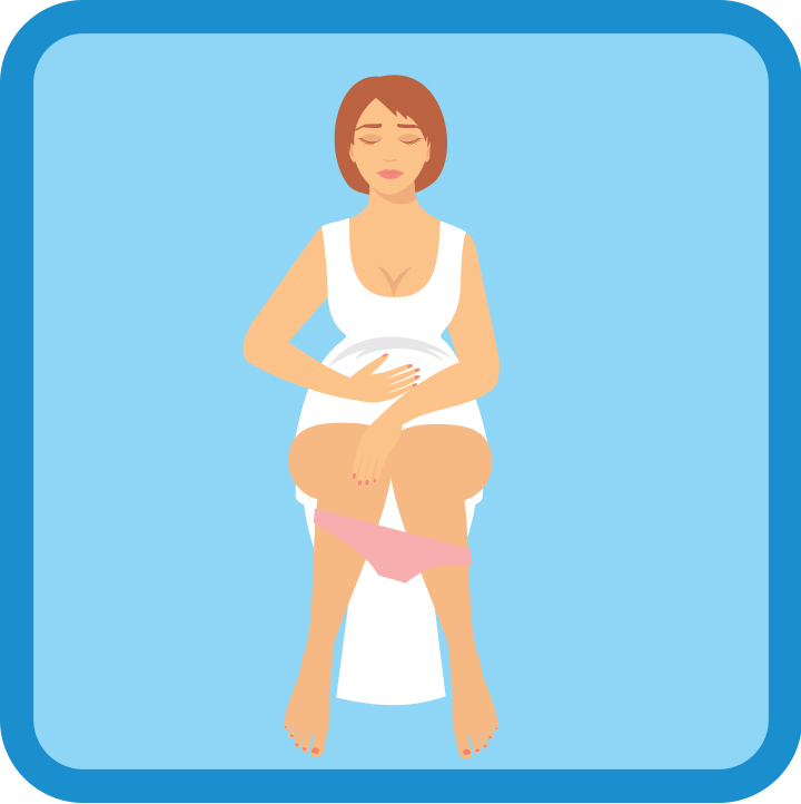 I'm Pregnant And My Toilet Seat Is Turning Blue! What's Going On?
