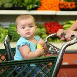 Baby In Car Seat Placed Over A Shopping Cart Here's What Might Happen!