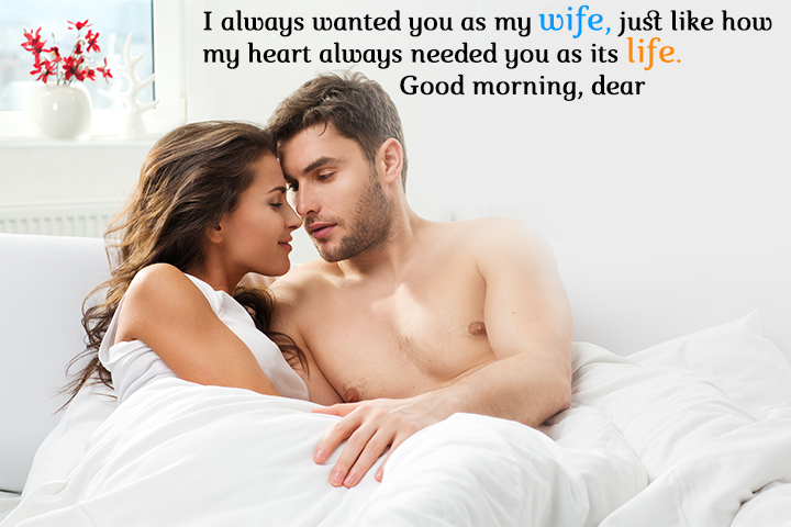 55 Romantic Good Morning Messages For Wife