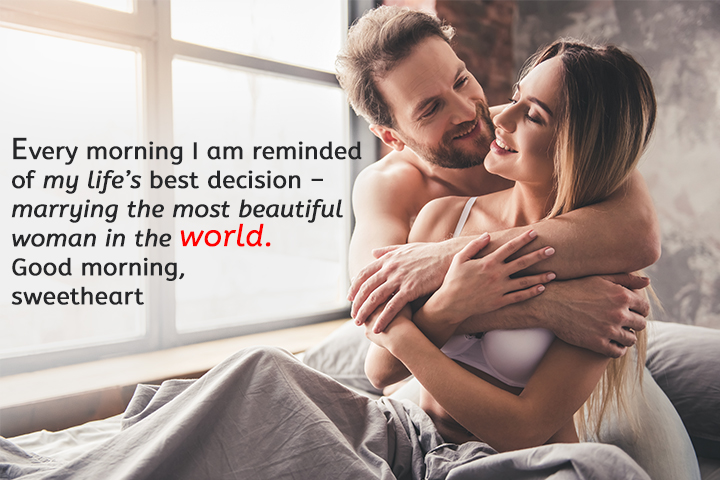 Good Morning My Beautiful Wife Quotes