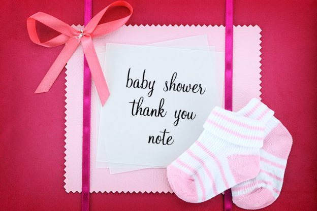 Baby Shower Thank You Card Wording For Group Gifts
