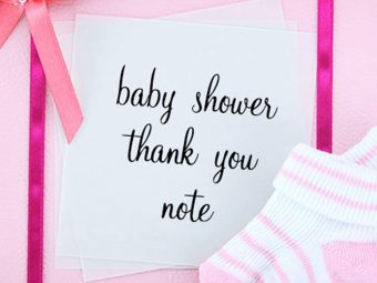 Baby Shower Thank You Notes: How To Write And What To Write (With Examples)
