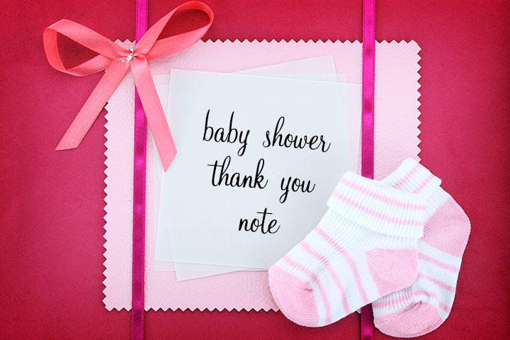 baby shower thank you notes how to write and what to
