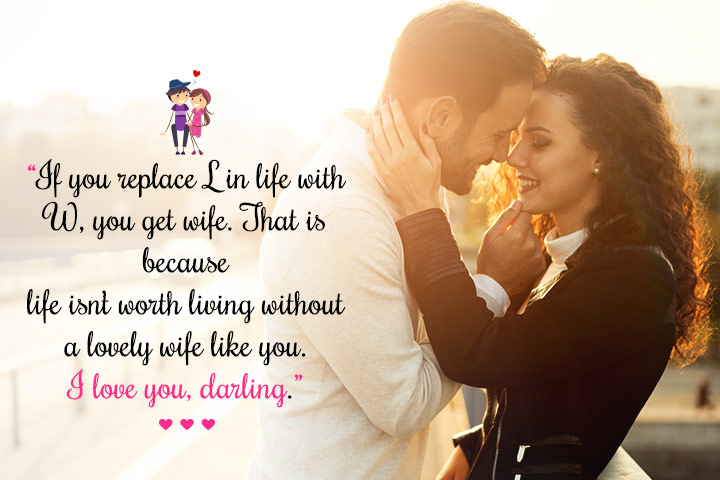 Image of: Boyfriend Love Quotes For Wife12 Momjunction 101 Romantic Love Messages For Wife