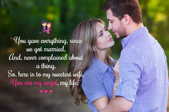 romantic messages for husband