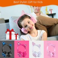 MindKoo Unicat Wireless Headphones: Kids' Best Stylish Gift And Companion