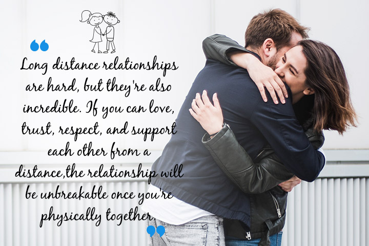 Quotes About Long Distance Relationship Are hard, But they are incredible.