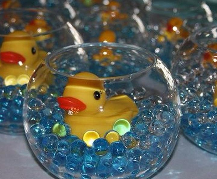 Rubber duck centerpiece
