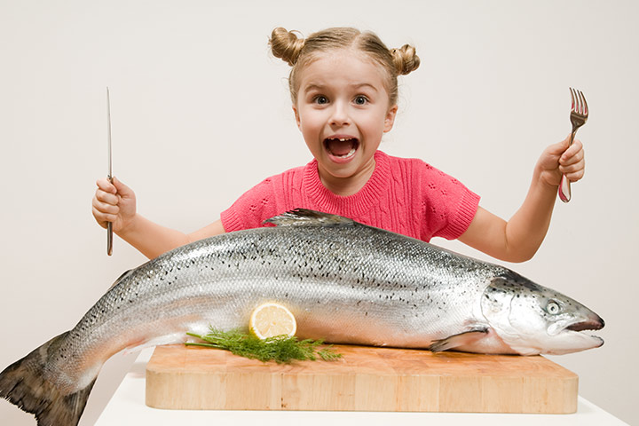 Eating Fish Could Improve Your Child's IQ And Sleep