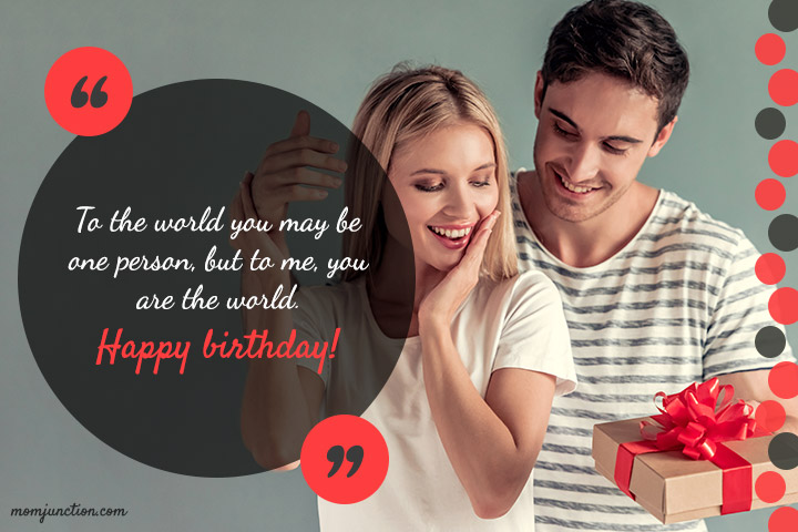 Sweet Birthday Wishes For Your Wife1