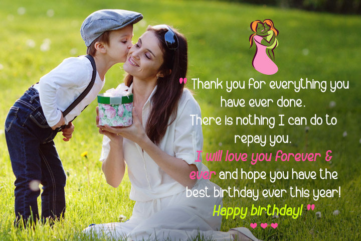 Many Many Happy returns of the Day mom