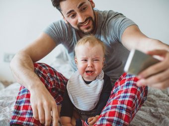 This Dad's Trick To Calm A Crying Baby Has Taken The Internet By Storm!