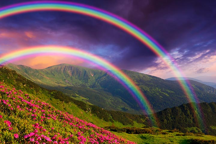 What Makes Up A Rainbow