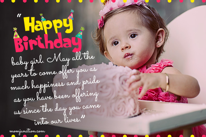 Happy 1st Birthday Wishes for Princess