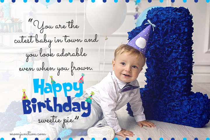 Birthday Message for Son Turning 1