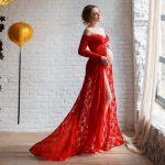 32 Elegant Baby Shower Dresses For Moms-To-Be