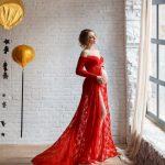 35 Elegant Baby Shower Dresses For Moms-To-Be