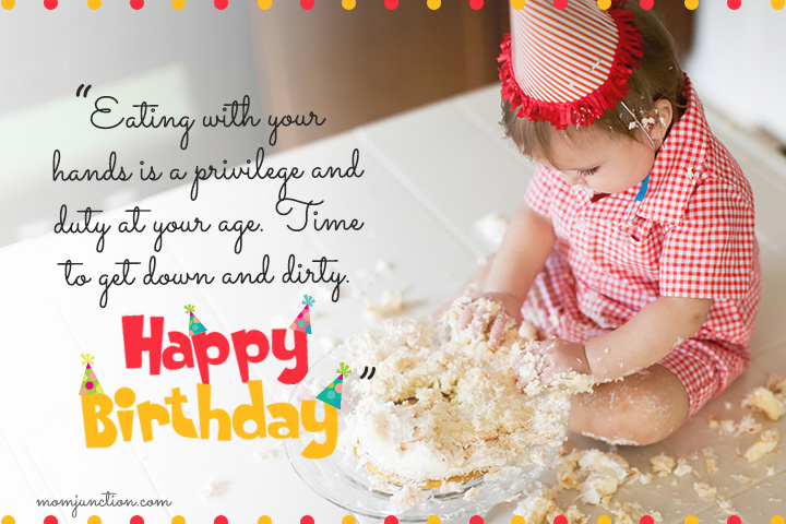First Birthday Wishes From Guests