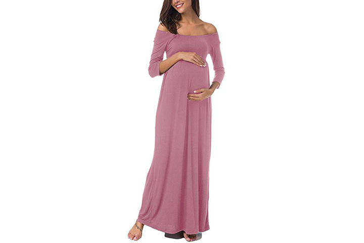 Pinkydot Maxi Dress