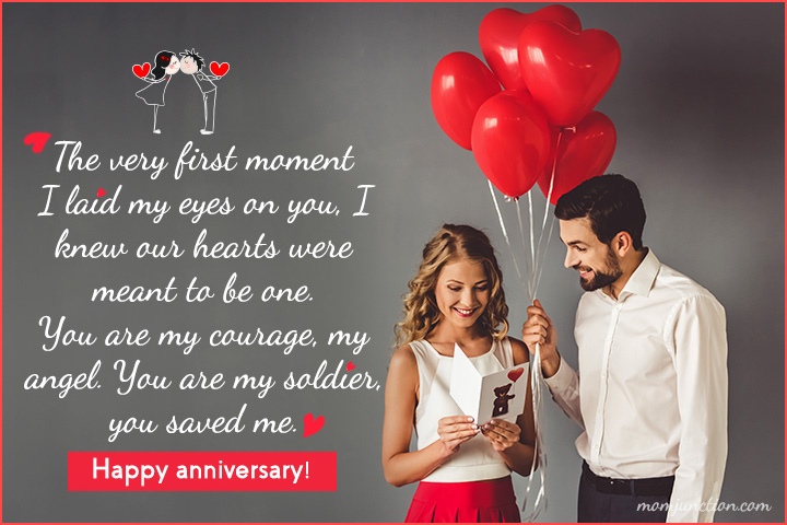 Happy Anniversary Greetings to My Wife