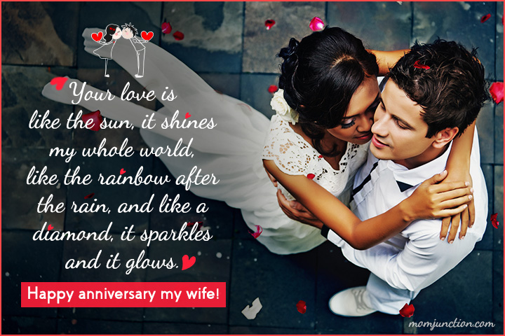 Wedding Anniversary Messages For Your Wife7