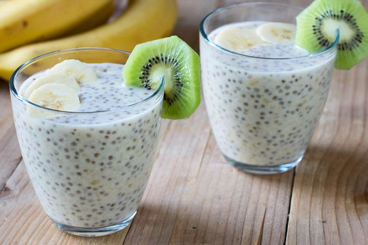 Chia seed smoothie