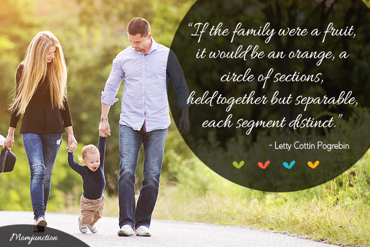 Small Happy Family Sayings