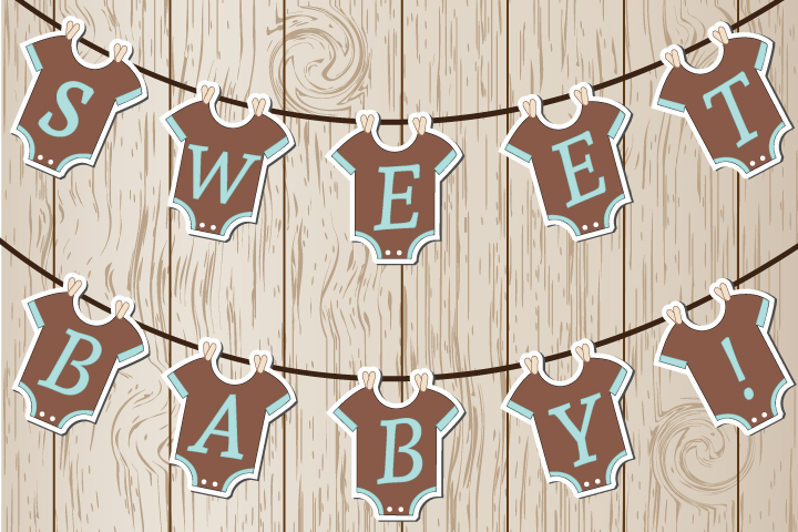 graphic relating to Free Printable Baby Shower Banner named 11 Appealing Little one Shower Banner Tips