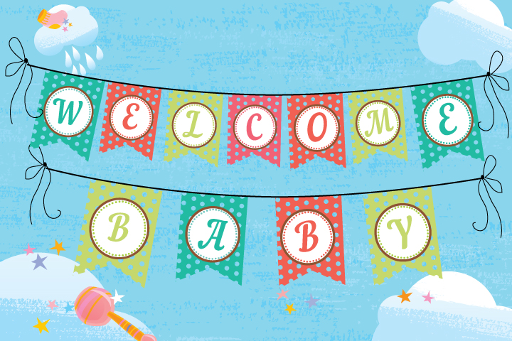 image relating to Printable Baby Shower Banners named 11 Appealing Youngster Shower Banner Strategies