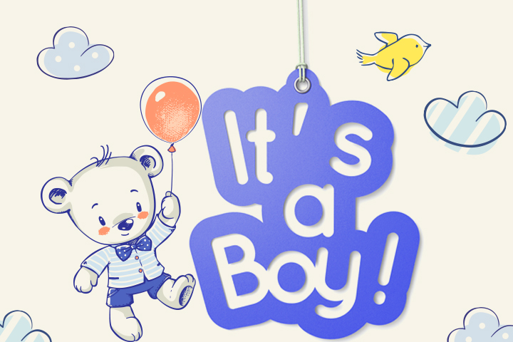 Free Printable Baby Shower Banners for Boy
