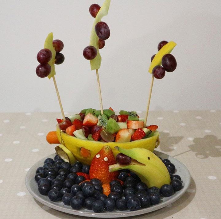 Fruit boat