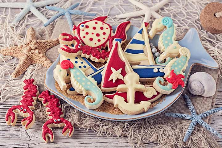 Nautical Baby Shower Snacks